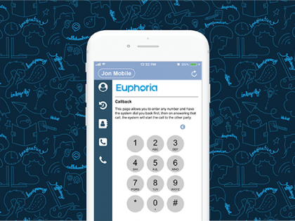 Put your deskphone in your pocket with Euphoria's new smartphone app